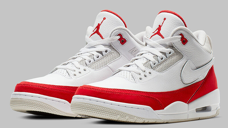 air jordan 3 tinker white red